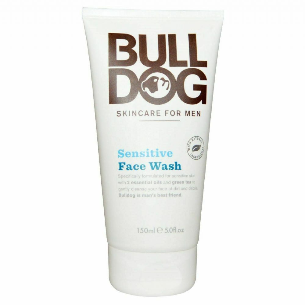 BULL DOG SKINCARE FOR MEN SENSITIVE FACE WASH - 150ML